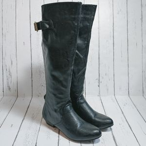 FERGALICIOUS Black knee boots